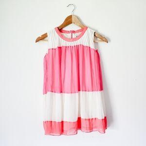 Little Girl Anthro Aphorism Pleated Summer Dress